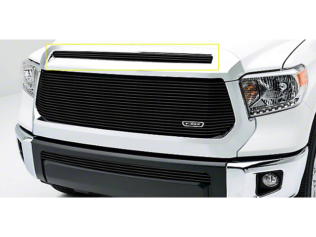 T-REX Billet Series Upper Overlay Grille; Black (14-21 Tundra, Excluding TRD Pro)