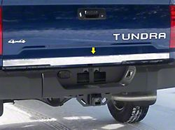 Tailgate Accent Trim; Stainless Steel (14-21 Tundra)