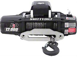 Smittybilt Gen2 X2O 12,000 lb. Winch with Synthetic Rope and Wireless Control (Universal; Some Adaptation May Be Required)