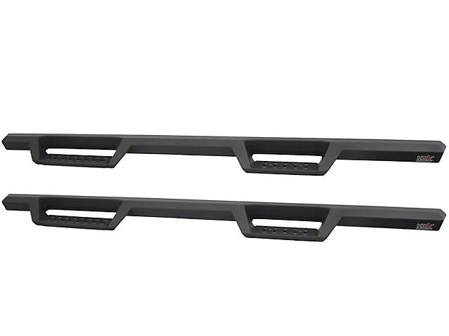 HDX Drop Nerf Side Step Bars; Textured Black (07-21 Tundra CrewMax)