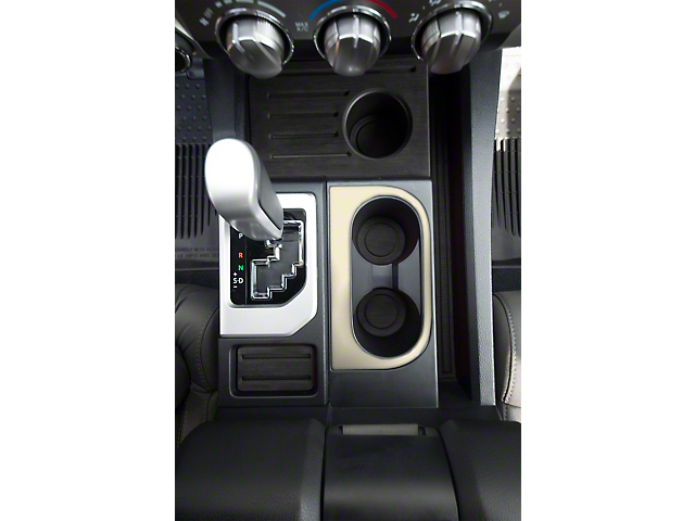 Center Console Cup Holder Replacement Accent Trim; Quicksand Tan (14-21 Tundra)