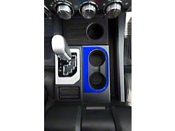 Center Console Cup Holder Replacement Accent Trim; Voodoo Blue (14-21 Tundra)