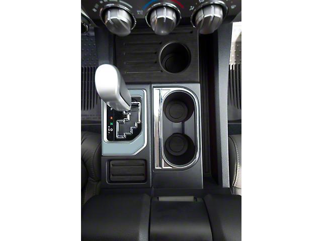 Center Console Shifter Accent Trim; Cement Gray (14-21 Tundra)