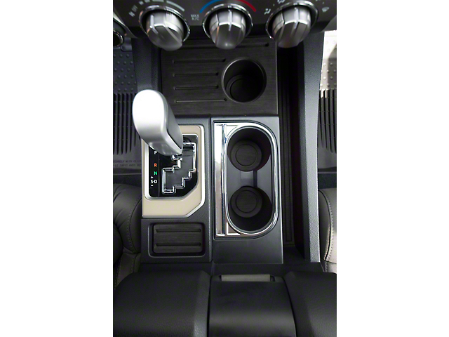 Center Console Shifter Accent Trim; Quicksand Tan (14-21 Tundra)