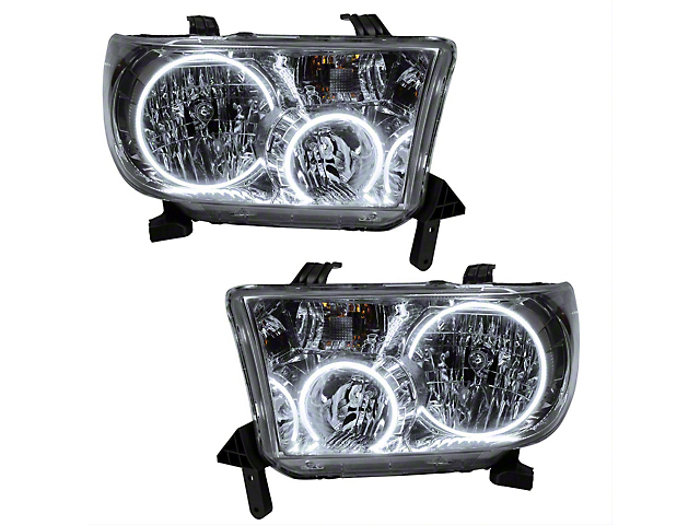 Oracle Headlight Assembly; SMD Pre-Assembled Headlights (07-13 Tundra)