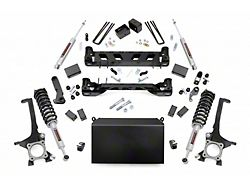 Rough Country 4-Inch Suspension Lift Kit with Lifted N3 Struts and Premium N3 Shocks (16-21 4WD Tundra)
