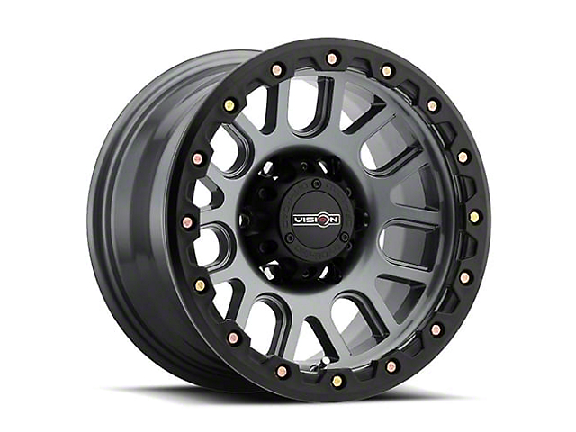 Vision Off-Road 111 Nemesis Gunmetal 5-Lug Wheel; 20x9; 18mm Offset (07-13 Tundra)