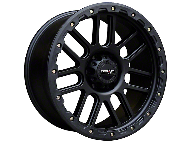 Vision Off-Road 111 Nemesis Matte Black 5-Lug Wheel; 18x9; 18mm Offset (14-21 Tundra)