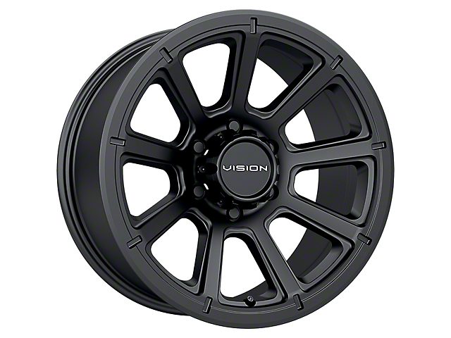 Vision Off-Road 353 Turbine Matte Black 5-Lug Wheel; 18x9; 12mm Offset (14-21 Tundra)