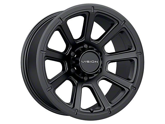 Vision Off-Road 353 Turbine Matte Black 5-Lug Wheel; 20x9; 12mm Offset (14-21 Tundra)