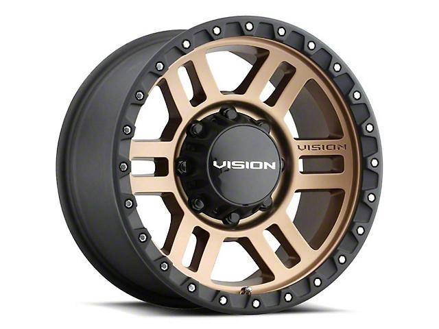 Vision Off-Road 354 Manx 2 Bronze 5-Lug Wheel; 18x9; 12mm Offset (07-13 Tundra)