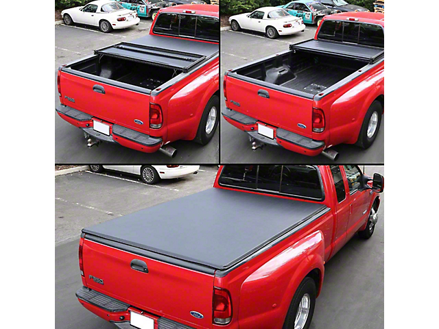 Tonneau Cover; Tr-Fold (07-17 Tundra with 5.5-Foot Bed)