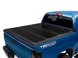 Barricade Low Profile Hard Tri-Fold Tonneau Cover (14-21 Tundra w/ 5.5-Foot Bed)