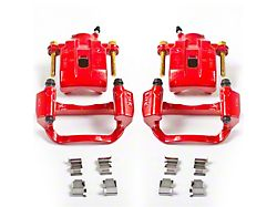 Power Stop Performance Rear Brake Calipers; Red (07-15 Tundra)