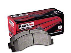 Hawk Performance SuperDuty Brake Pads; Front Pair (07-21 Tundra)