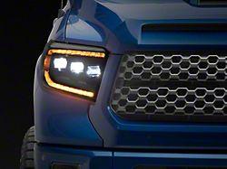 Morimoto GEN2 XB LED Projector Headlights; Black Housing; Clear Lens (14-21 Tundra w/ Factory LED Headlights)