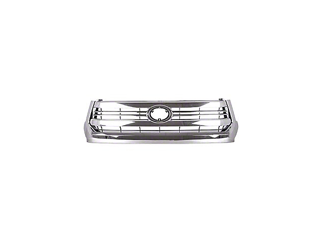 Upper Replacement Grille; Chrome; CAPA Certified Replacement Part (14-17 Tundra)