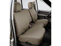 Covercraft SeatSaver Front Seat Cover; Wet Sand; With 40/20/40-Split Bench Seat, 3-Adjustable Headrests, Fold-Down Console, Cupholders and Seat Airbags (14-21 Tundra)