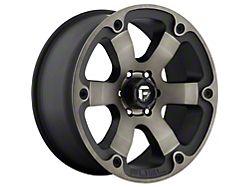 Fuel Wheels Beast Matte Black Double Dark Tint 5-Lug Wheel; 20x9; 1mm Offset (14-21 Tundra)