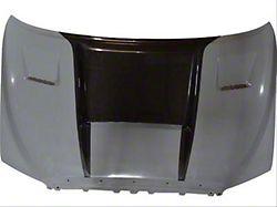Ram Air Hood with Carbon Fiber Blister; Unpainted (07-13 Tundra)