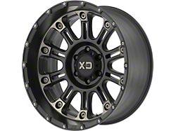 XD Hoss II Satin Black Machined with Dark Tint 5-Lug Wheel; 20x9; -12mm Offset (07-13 Tundra)