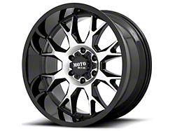 Moto Metal MO806 Gloss Black Machined 5-Lug Wheel; 20x9; 0mm Offset (07-13 Tundra)