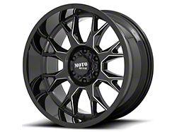 Moto Metal MO806 Gloss Black Milled 5-Lug Wheel; 20x9; 0mm Offset (07-13 Tundra)