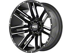 Moto Metal MO978 Razor Satin Black Machined 5-Lug Wheel; 20x10; -24mm Offset (07-13 Tundra)