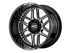 Moto Metal MO992 Folsom Gloss Black Milled 5-Lug Wheel; 20x9; 18mm Offset (14-21 Tundra)