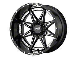 Moto Metal MO993 Hydra Gloss Black Milled 5-Lug Wheel; 20x9; 18mm Offset (07-13 Tundra)