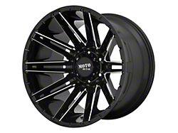 Moto Metal MO998 Kraken Gloss Black Milled 5-Lug Wheel; 20x9; 0mm Offset (14-21 Tundra)