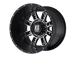 XD Riot Matte Black Machined 5-Lug Wheel; 18x9; 18mm Offset (07-13 Tundra)