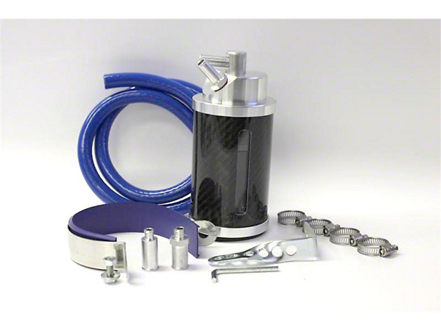 Prosport Oil Catch Can; Carbon Fiber (Universal; Some Adaptation May Be Required)