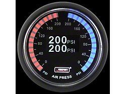 Prosport 52mm Digital Series Dual Air Pressure Gauge; 0 to 200 PSI; OLED Display (Universal; Some Adaptation May Be Required)