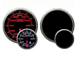 Prosport 52mm Premium Series Exhaust Gas Temperature Gauge; Electrical; Amber/White (Universal; Some Adaptation May Be Required)