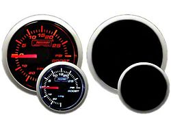 Prosport 60mm Premium Series Boost Gauge with Sender; Electrical; Green/White (Universal; Some Adaptation May Be Required)