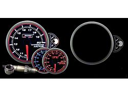 Prosport 52mm Halo Premium Series Wideband Air/Fuel Ratio Gauge; Blue/White/Amber (Universal; Some Adaptation May Be Required)