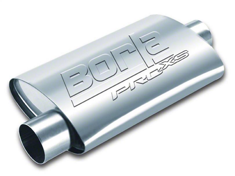 Borla Pro XS Center/Offset Oval Muffler - 2.25 in. (Universal Fitment)