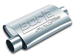 Borla Pro XS Center/Offset Oval Muffler; 2.25-Inch (Universal; Some Adaptation May Be Required)