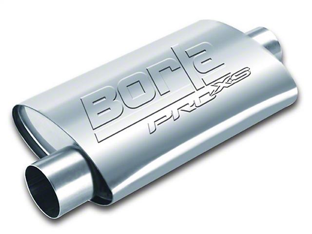 Borla Pro XS Center/Offset Oval Muffler; 2.50-Inch (Universal Fitment)