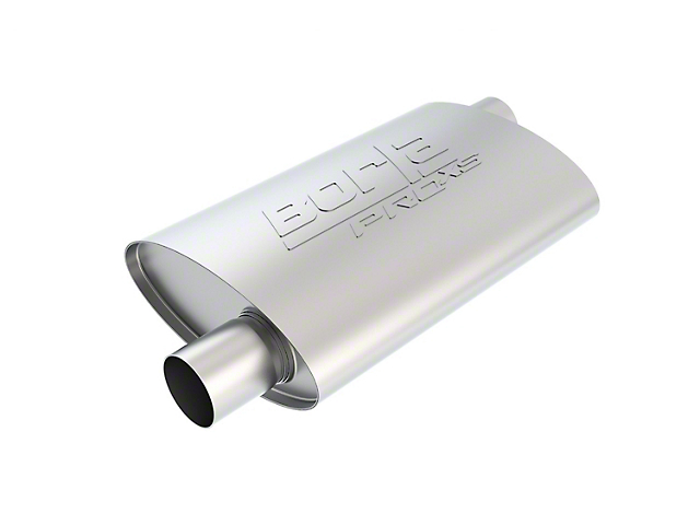 Borla Pro XS Offset/Offset Oval Muffler - 2.25 in. (Universal Fitment)