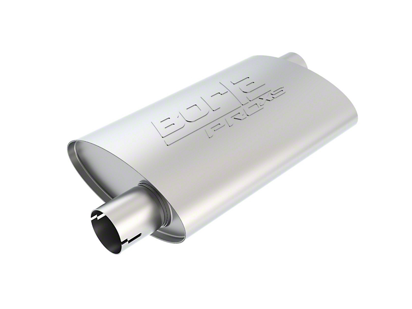 Borla Pro XS Offset/Offset Oval Muffler - 2.5 in. (Universal Fitment)