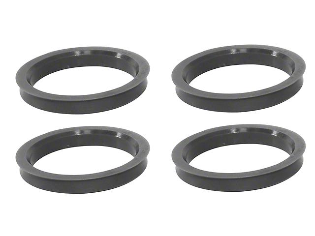 108mm/106.10mm Hub Rings (87-20 Jeep Wrangler YJ, TJ, JK & JL)