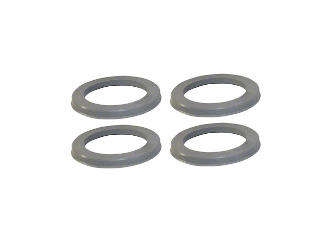 Coyote Hub Rings; 110mm/87.10mm (Universal Fitment)