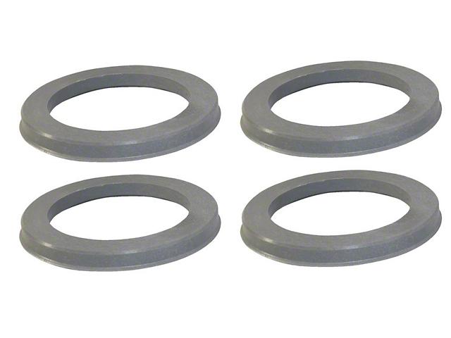 Coyote 74mm/63.40mm Hub Rings (Universal Fitment)
