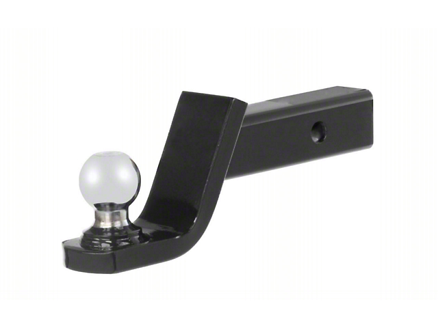RedRock 4x4 2-Inch Receiver Hitch Ball Mount with 1-7/8-Inch Ball; 2-Inch Drop (Universal Fitment)