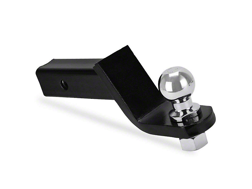 RedRock 4x4 2-Inch Receiver Hitch Ball Mount with 2-Inch Ball; 2-Inch Drop (Universal Fitment)