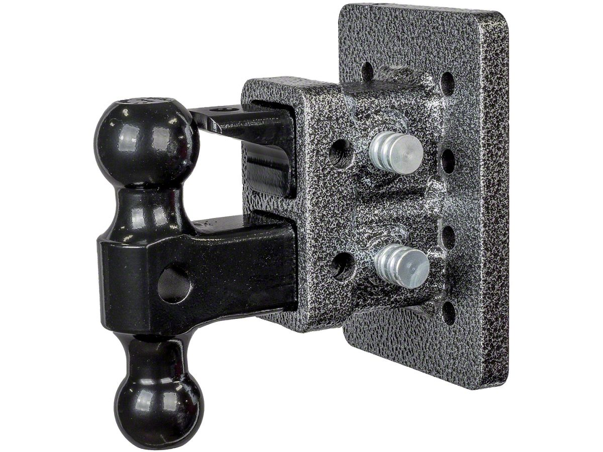 Adjustable Hitch Receiver >> Gen Y Hitch Mega Duty 2 In Receiver Hitch Bolt On 16k Adjustable Ball Mount W Pintle Lock 2 5 In Drop Hitch Universal Fitment