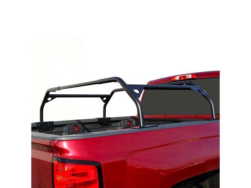 Tuff Stuff Adjustable 40 in. Roof Top Tent Truck Bed Rack - Black (Universal Fitment)