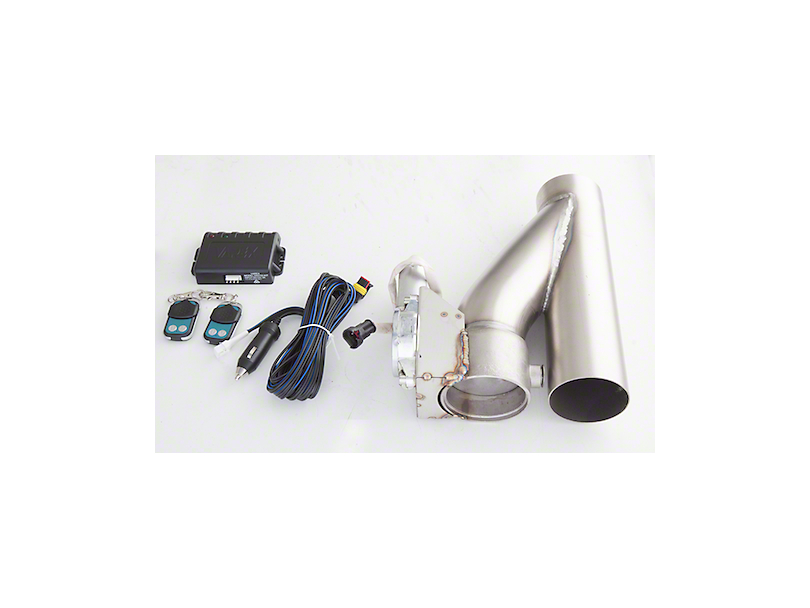 X-Force Electronic Exhaust Cutout Kit; 3.50-Inch (Universal Fitment)
